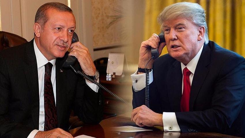 Trump'tan 'Erdoğan görüşmesi' açıklaması