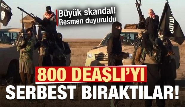 PKK/YPG Tel Abyad'da 800 civarı DEAŞ'lıyı serbest bırakmıştır