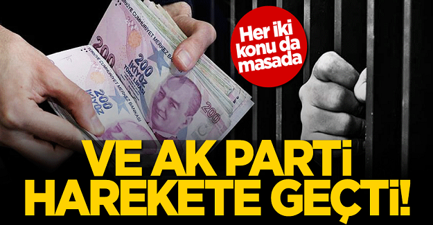 AK Parti harekete geçti! Her iki konu da masada