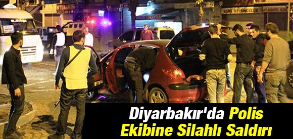 DİYARBAKIR'DA POLİSE KANLI PUSU !
