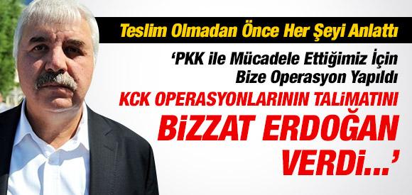 KCK OPERASYONU TALİMATINI BİZZAT ERDOĞAN VERDİ !