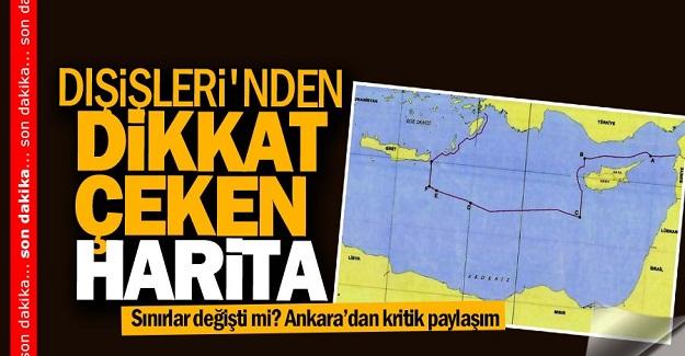 Sınırlarımız değişti! Türkiye yeni haritayı dünyaya duyurdu