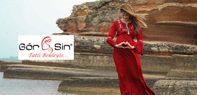 Gör&Sin Hamile Giyim'de Şimdi Al Kapıda Öde