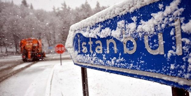 İstanbul için korkutan kar yağışı uyarısı