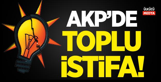 AKP'de peş peşe istifalar!