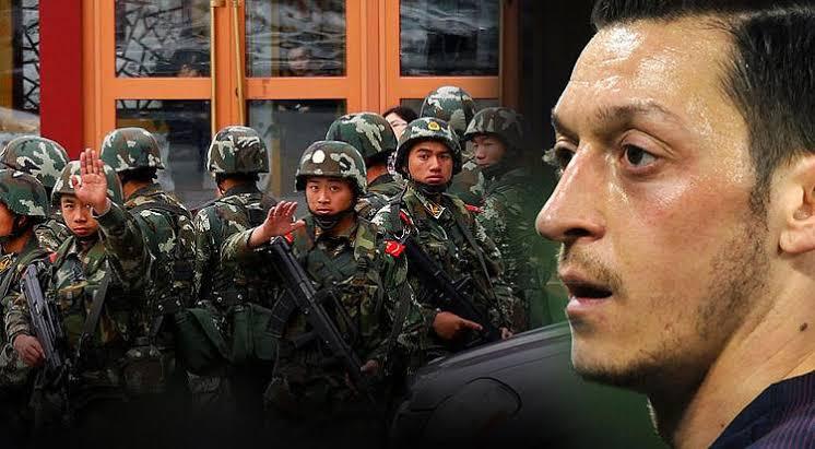 Çin'de Mesut Özil nefreti dinmiyor! Böyle rezalet görülmedi