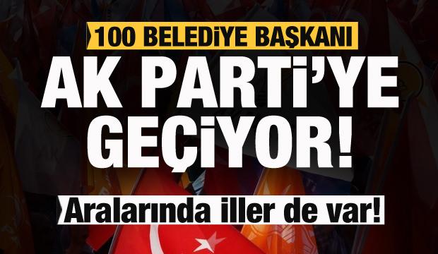 AK Partili vekil Duyurdu! 100 belediye başkanı AK Parti'ye geçiyor