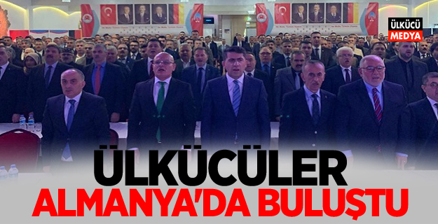 Ülkücüler Almanya Türk Federasyon Toplantısında Buluştu
