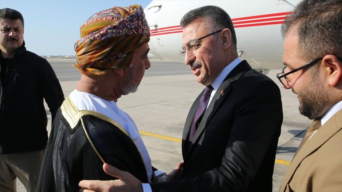 Cumhurbaşkanı Yardımcısı Oktay Umman'da