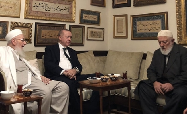 Erdoğan'dan İsmailağa Cemaatine ziyaret