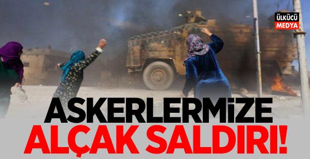 Türk askerine alçak saldırı