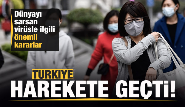 Çin'den dünyaya yayılan gizemli virüsle ilgili Türkiye'den son dakika kararı