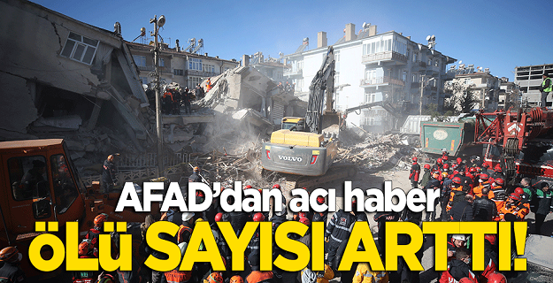 AFAD'dan acı haber: Ölü sayısı 29'a yükseldi!