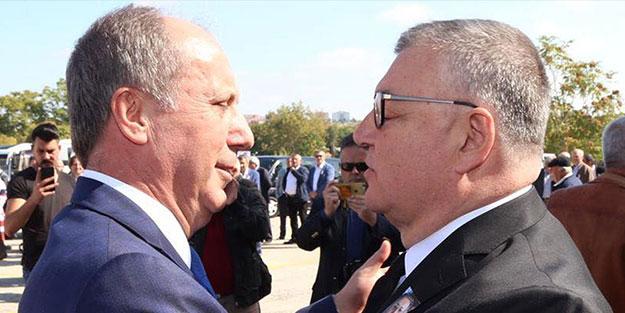 CHP'li belediye başkanı, Muharrem İnce'ye kafa attı!