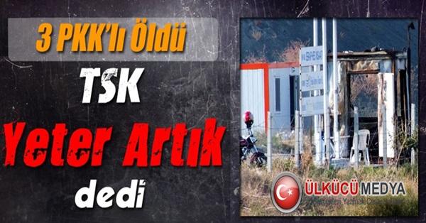 3 PKK'lı Öldürüldü !
