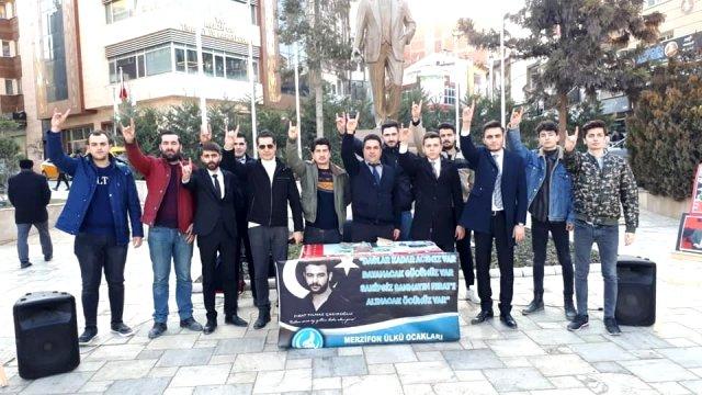 Ülkü Şehit Fırat Yılmaz Çakıroğlu Fotoğraf Sergisi İle Anıldı