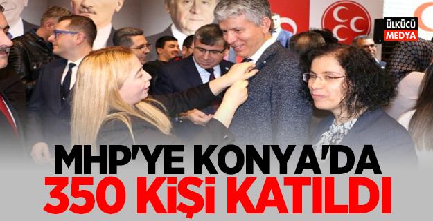 MHP'ye Konya'da 350 kişi katıldı