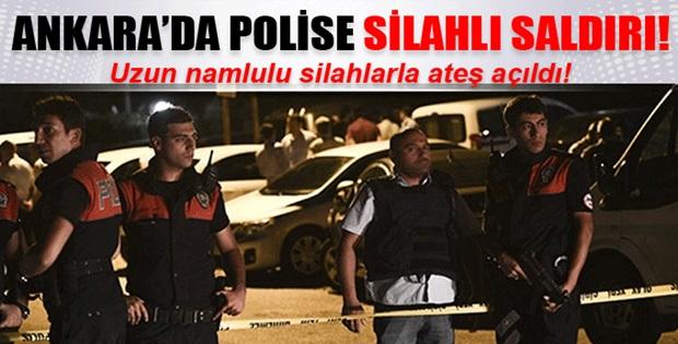 Ankara'da polise silahlı saldırı !