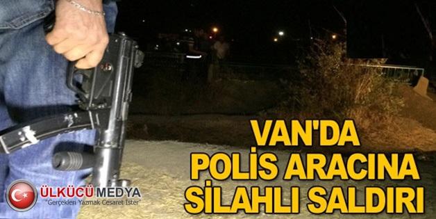 Van'da Polise Uzun Namlulu Silahlarla Saldırı !