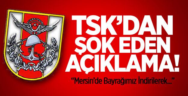 Mersin'de Türk Bayrağı Yakıldı !