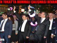 MHP'NİN TOKAT'TA HUMMALI ÇALIŞMASI DEVAM EDİYOR