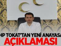 MHP TOKAT'TAN YENİ ANAYASA AÇIKLAMASI