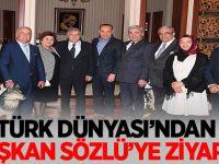 Türk Dünyası'ndan Başkan Sözlü'ye ziyaret