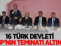"""MHP Ankara İl Başkanı Çetinkaya """"16. Türk devleti MHP'nin teminatı altında"""""""