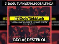 21 Doğu Türkistanlı gözaltında