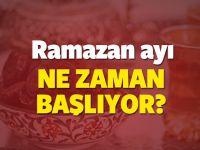 2017 Ramazan ayı ne zaman başlıyor? Ramazan Bayramı ne zaman?