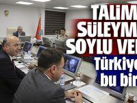 Talimatı Süleyman Soylu Verdi. Türkiye'de Bu İlk