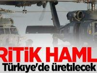 Sikorsky helikopterleri için önemli bazı parçalar Türkiye de üretilecek...