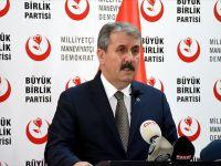 BBP Genel Başkanı Destici'den vize Açıklaması