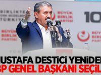 Mustafa Destici: Yeniden BBP Genel Başkanı Seçildi