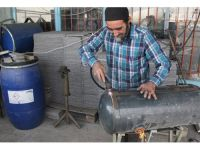 Eskiyen Oto LPG Tanklarıyla Evleri Isıtıyor
