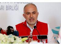 Türk Kızılayı Genel Başkanı Kınık: Erbil'deki Ekibimiz Bölgeye Hareket Etti