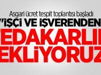 Çalışma Bakanı Sarıeroğlu: Asgari Ücret İçin Fedakarlık Bekliyoruz