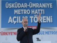 Başbakan Yıldırım: İstanbul Genelinde Raylı Sistem Hedefimiz Bin 23 Kilometre