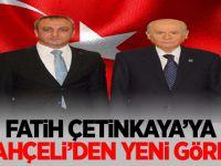 Eski MHP Ankara İl Başkanı Fatih Çetinkaya'ya yeni görev