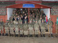Bakan Soylu'dan Şırnak'ta Tabur Komutanlığına Ziyaret