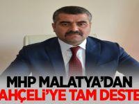 MHP MALATYA'DAN BAHÇELİ'YE TAM DESTEK