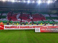Bursaspor'dan Zeytin Dalı Harekatı'na Destek