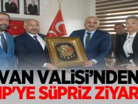 Van Valisi Zorluoğlu'ndan MHP'ye süpriz ziyaret