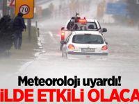 Meteorolojiden 5 il için kuvvetli uyarı