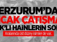 Erzurum'da sıcak çatışma! PKK'lı hainlerin sonu..