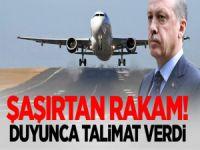 Erdoğan'ı Şaşırtan Rakam: Duyunca Talimat Verdi