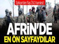 Türkiye'den flaş ÖSO hamlesi! Afrin'de en ön sayfaydılar