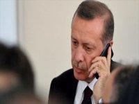 Erdoğan, Trump İle Telefonda Görüştü