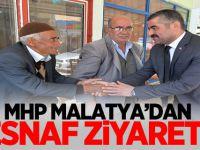 MHP Malatya'dan Esnaf Ziyareti