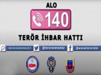 'Alo 140 Terör İhbar Hattı' İçin İki Yeni Kamu Spotu